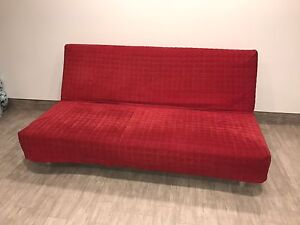 IKEA Sofa Bed ( Beddinge Resmo in RED )