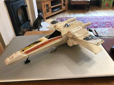Vintage Star Wars x-Wing 1978 fighter Vehicle 100% Original working wings fine