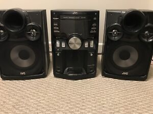 JVC Sounds System and Speakers
