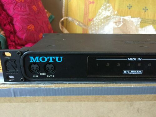 MOTU MIDI Express 128 MIDI rackmount USB Interface.