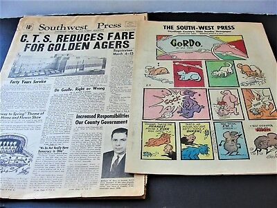 Southwest Press-Cuyahoga County's Little Sunday Newspaper-Ohio, March 3,1963.