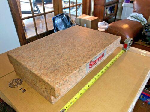 """Starrett PINK Granite Surface Plate  18"""" X 12"""" X 4 1/4"""""""