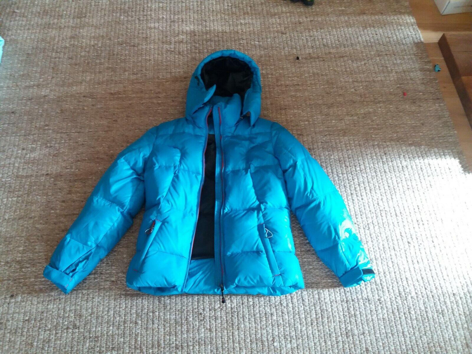 NORTHLAND Damen / Mädchen Winter Jacke, Gr. 36, wasserabweisend, dunkelblau