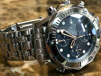 Omega Seamaster Chronograph Diver 300M 2598.8 with James Bond 007 Bracelet