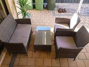 Outdoor wicker furniture set East Cannington Canning Area Preview