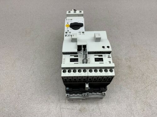 NEW TAKEOUT EATON MOTOR STARTER PKZM0-2.5 XTPR2P5BC1 WITH CONTACTORS SV 9340.260