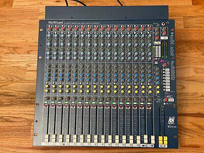 Allen & Heath MixWizard WZ16:2DX 16 Input Mixer with Dual Digital Effects