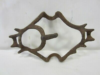 Antique Lightening Rod Weathervane Center Iron Bracket #2