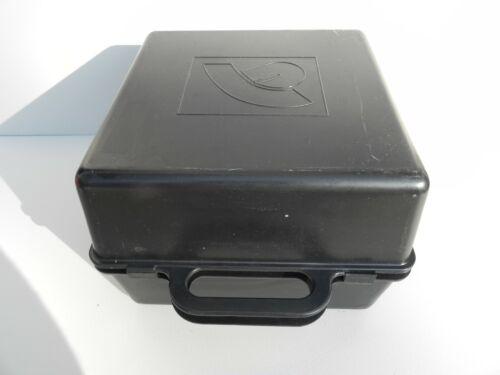 HAT BOX BLACK PLASTIC HEAD WEAR PROTECTOR TRAVEL STORAGE