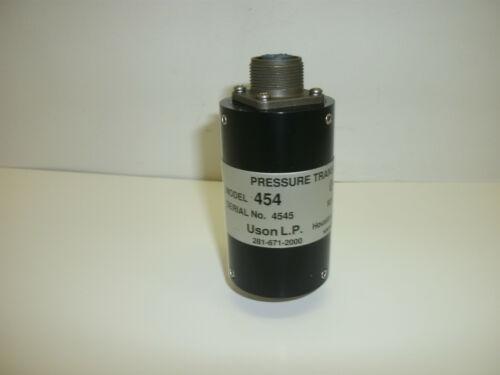 USON L.P 454 PRESSURE TRANSDUCER 0-30 PSIG 90 PSIG MAXIMUM NEW NO BOX