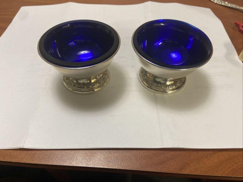 Pair 2 Each Prelude International Master Salt Cellars. Matching Model S131