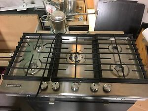 New Kitchen aid gas stove top