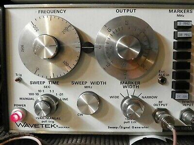 Wavetek 1001a Frequency Sweep Generator
