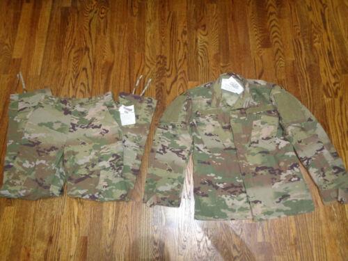 USGI OCP FRACU SCORPION Camo Uniform Jacket & Pants SET * SMALL REGULAR * NWT