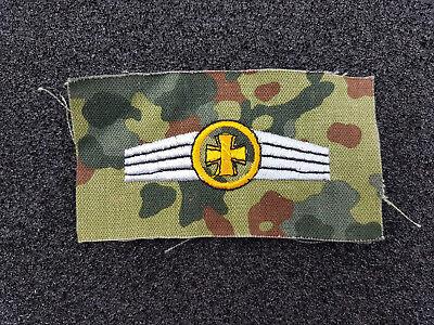 (A18-28) Bundeswehr Kompaniefeldwebel Tätigkeitsabzeichen Gold Stoff