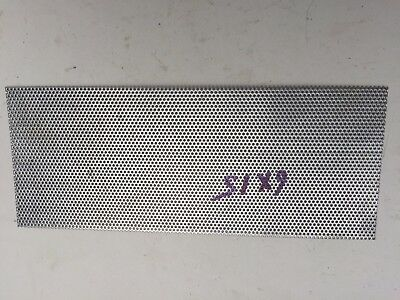Two Perforated Stainless Steel 6 X 9 - 332 Hole 20 Gauge Free Shipping