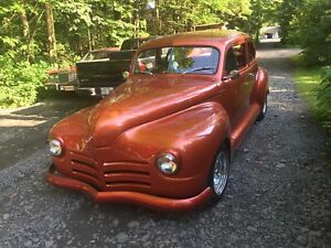 Plymouth 1946 antique hot rod financement disponible