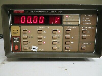 Keithley Model 617 Programmable Electrometer Ny66