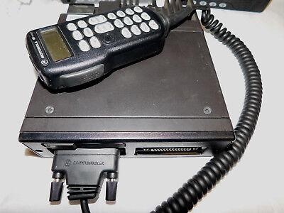 9600 Baud Motorola Astro Spectra 800mhz P25 Digital Mobile Radio W3 Hhch Xtl5000