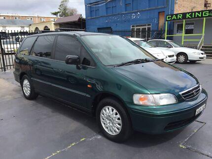 1998 Honda Odyssey 7 Seat 3YRS WARRANTY! LOGBOOKS! BARGAIN! Haberfield Ashfield Area Preview