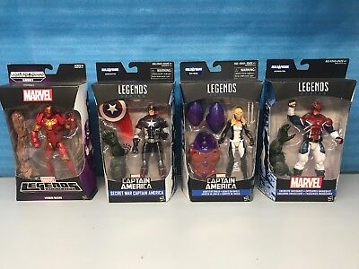 Marvel Legends Lot. Captain America, Iron Man, Agents Of Shield , Capt Brit New ()