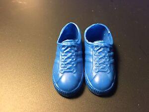 Vintage Rare KEN Doll DARK BLUE Tennis Shoes Sneakers Mattel Barbie Taiwan