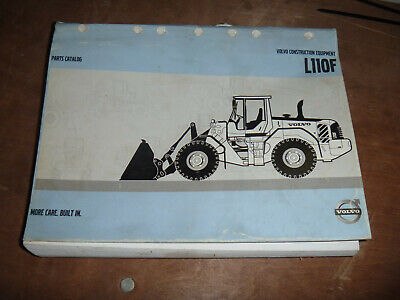 Volvo L110f Wheel Loader Parts Catalog Manual