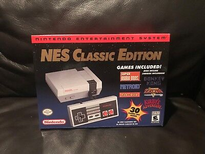 Nintendo NES Classic Mini Printing Modded w 850+ Games - Late 2018 Stock