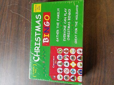 Christmas Bingo Game Cards (NEW Original Classic Anton Christmas Bingo Game for 2-10 Players Family)