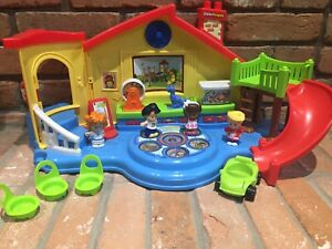 Little people's toy daycare set