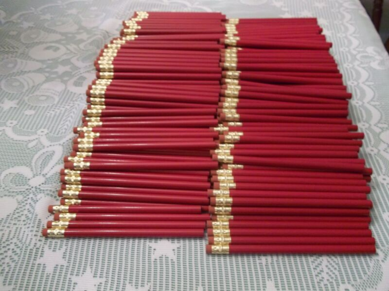 "Lot of 360 (30 doz) New, Super Jumbo, Round 3/8"" Carpenter/Kindergarten Pencils"
