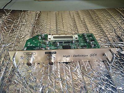 Sanyo POA-MD15SDI HD High Definition SDI Serial Digital Interface Board/Card - High Definition Serial Digital Interface