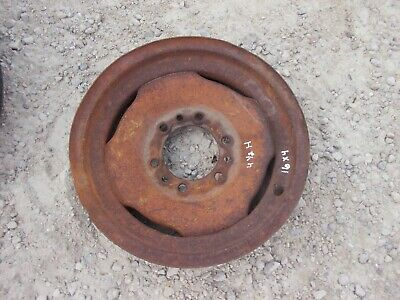 John Deere Tractor 4 X 16 Front Press Steel Solid Dish Rim Jd