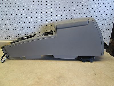 2007 CADILLAC STS CENTER CONSOLE STORAGE COMPARTMENT COMPLETE ASSEMBLY GREY GRAY