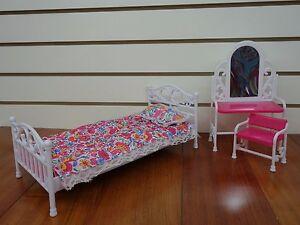 Gloria, Barbie Size Furniture/(9314) Bedroom Set