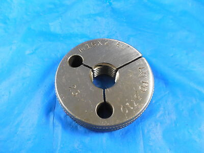 M16 X 2 6g Metric Thread Ring Gage 16.0 2.0 Go Only P.d. .5710 Inspection Tool