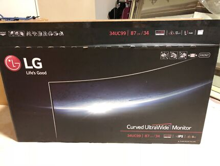LG wide screen gaming monitor great for PUBG with more field view