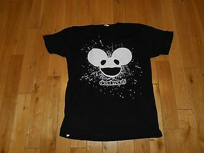 Deadmau5 band T-Shirt EDM Electric Dance Music Concert Tour Dead Mouse mens Lrg