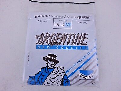 Savarez Argentine Ball End Acoustic Jazz Guitar String Set * 1610MF