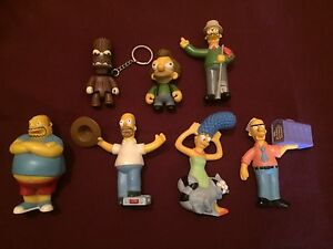 7 personnages The Simpson