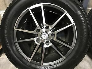 Ford, Toyota, Mazda  Mag wheels with 90% Tyres Frenchs Forest Warringah Area Preview