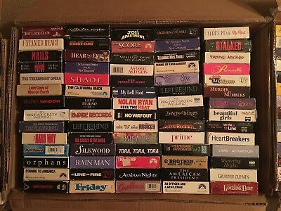 20  VHS    Video movie  tape  lot    Sci-Fi HUMOR Documentary HORROR Romance