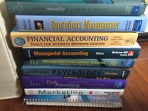 University Books - mostly business