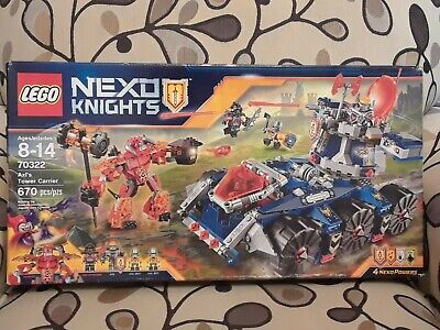 LEGO NEXO KNIGHTS, Axl's Tower Carrier (70322) --- New, Sealed