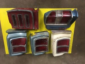 1967/68 Rebel /Rambler Taillight Assembly's