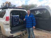 Toyota Prado 150 Custom False Floor and ARB Fridge Slide Eltham Nillumbik Area Preview