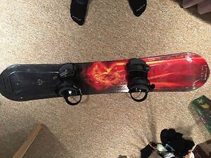 LTD fury 154 adult snowboard