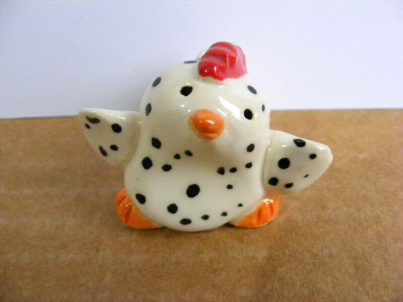 Little Guys Chicken Miniature Animal Figurine Cindy Pacileo Pottery