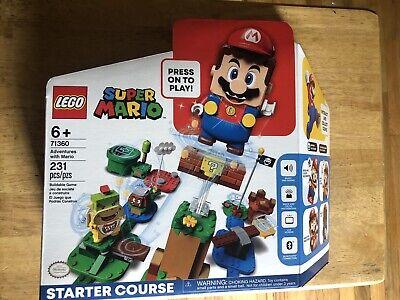 LEGO 71360: Super Mario Adventures with Mario Starter Course NEW