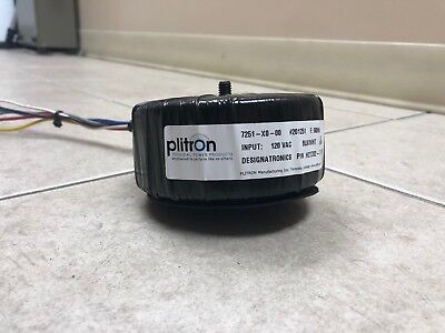 Plitron Toroidal Power Product 7251-x0-00 201251 Input 120 Vac Pn H27z82-7
